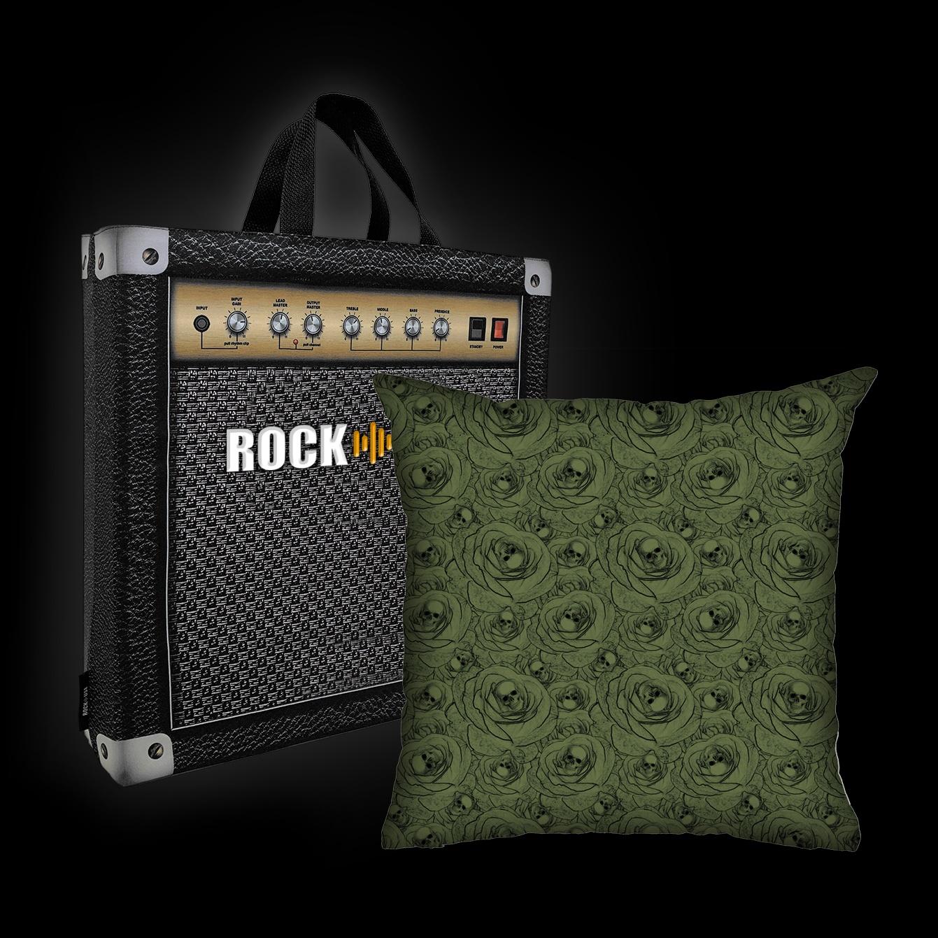 Rock Use - Skulls & Roses (Verde)