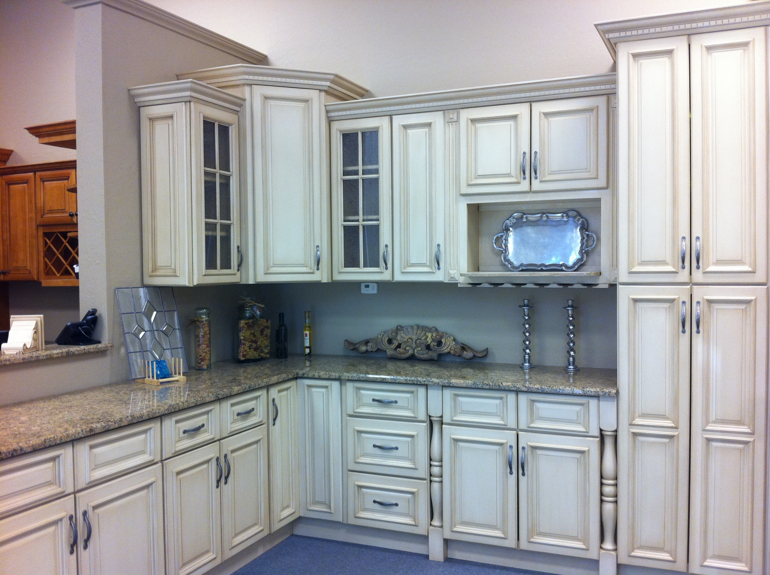Antique Colored Kitchen Cabinets