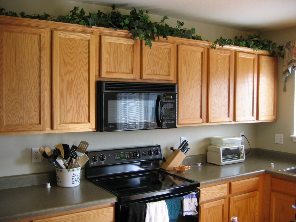 Artificial Plants For Top Of Kitchen Cabinets