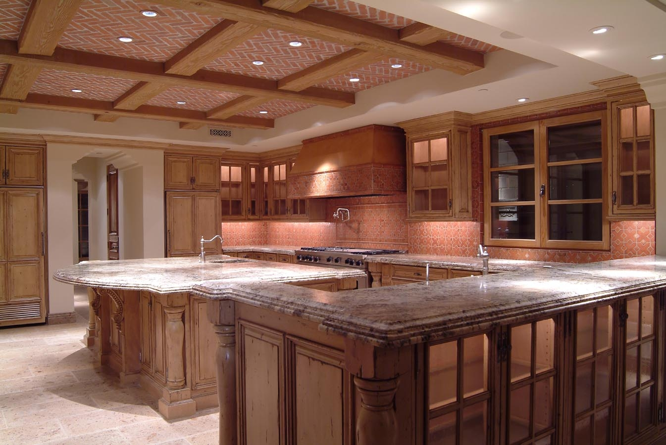 High End Cabinets Kitchen