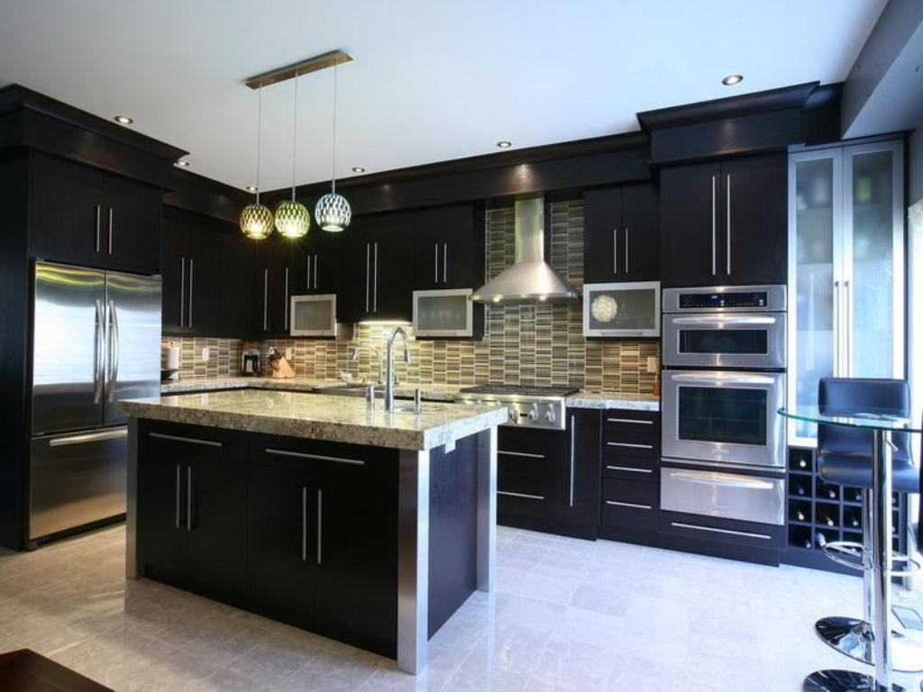 Kitchen Cabinet Colors With Dark Floors