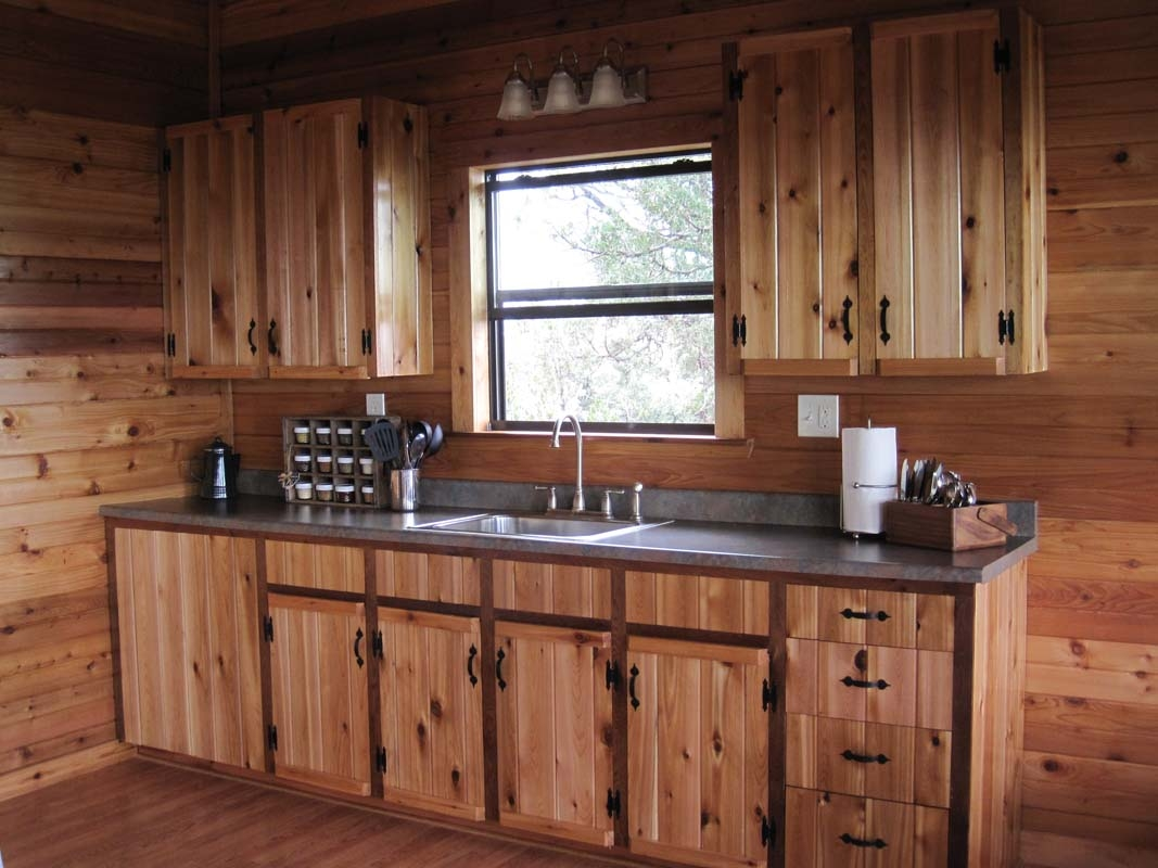 Lodge Style Kitchen Cabinets
