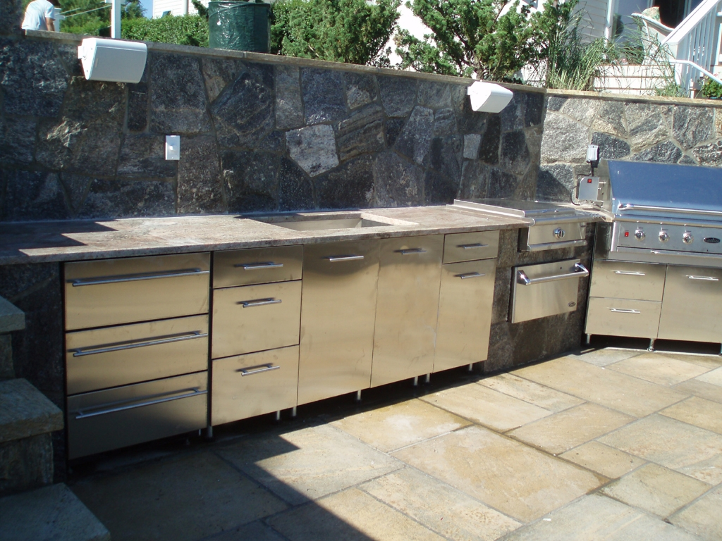 Metal Cabinets For Outdoor Kitchen
