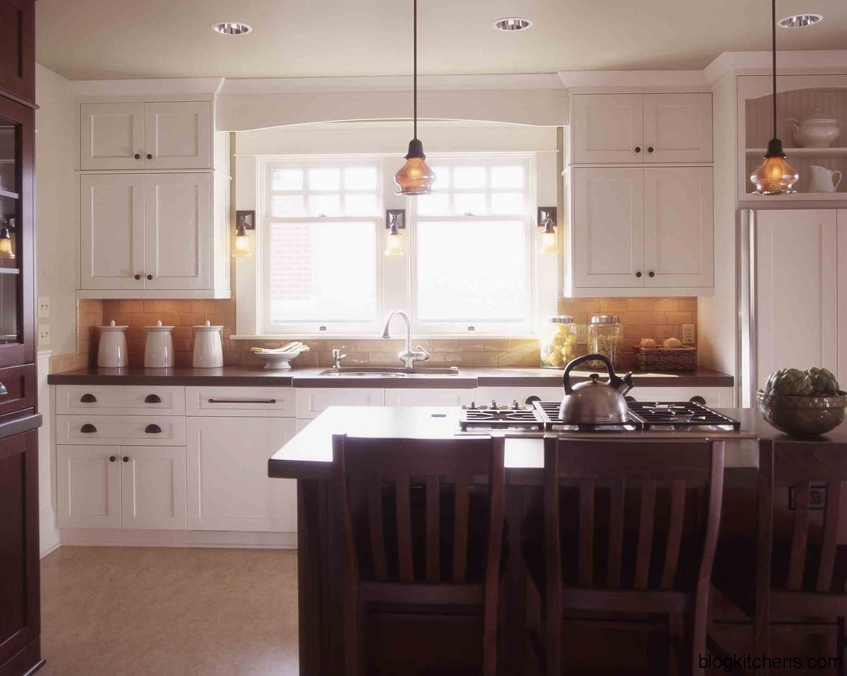 Mission Style Kitchen Cabinets White