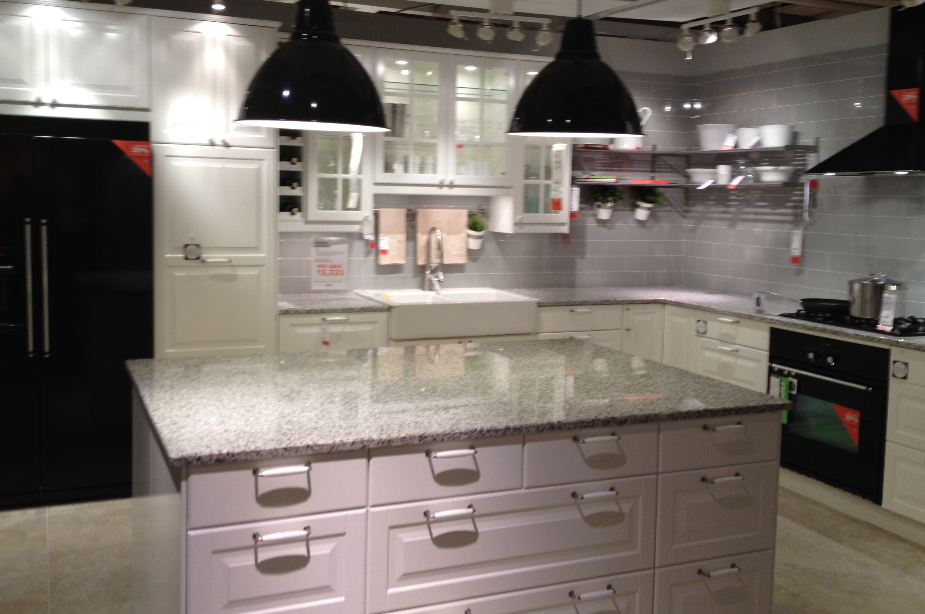 Pearl Grey Kitchen Cabinets