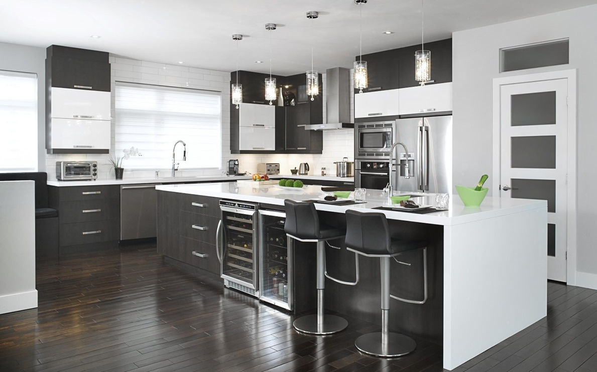 Polyester Coating Kitchen Cabinets
