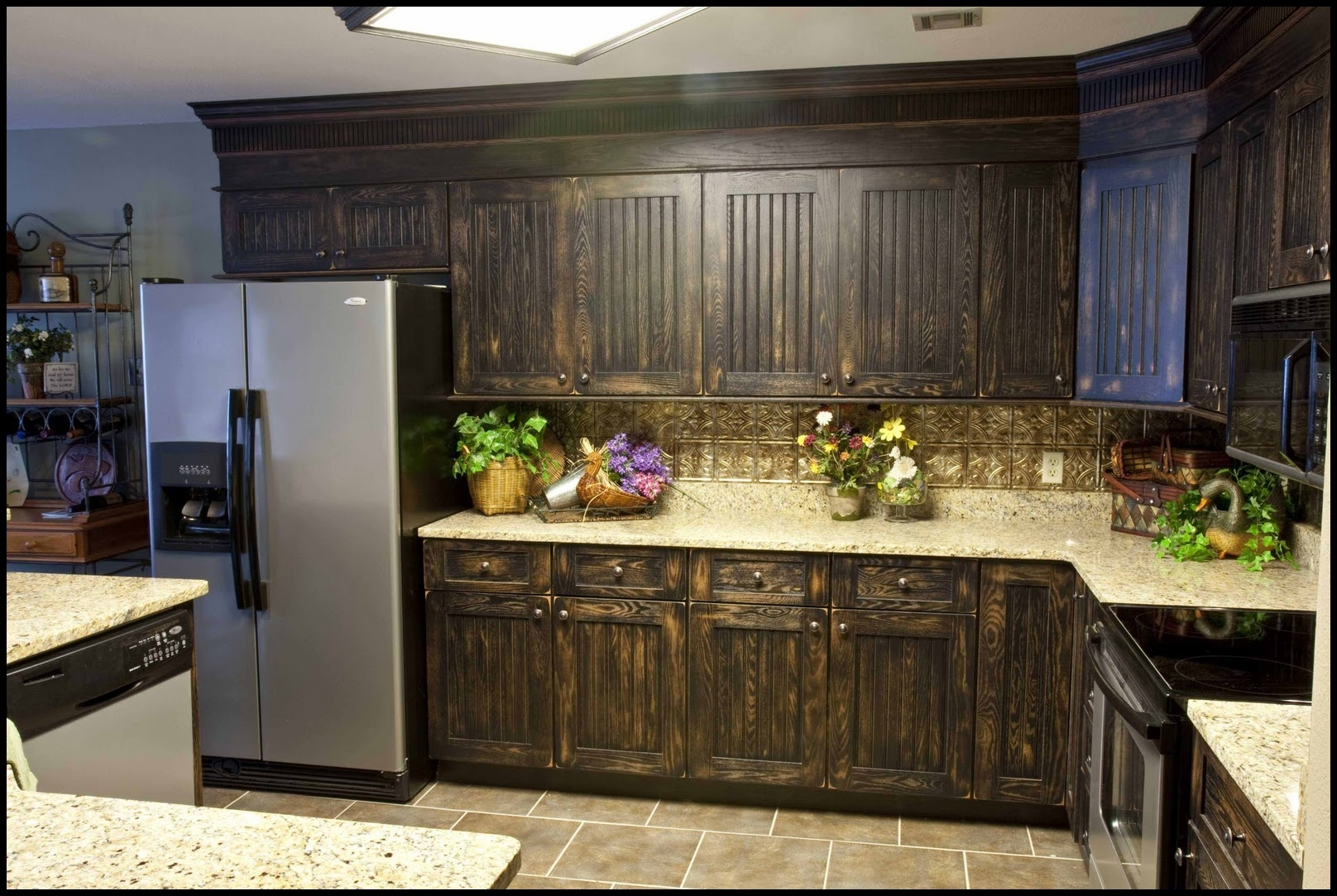 Permalink to Refacing Kitchen Cabinets Colors