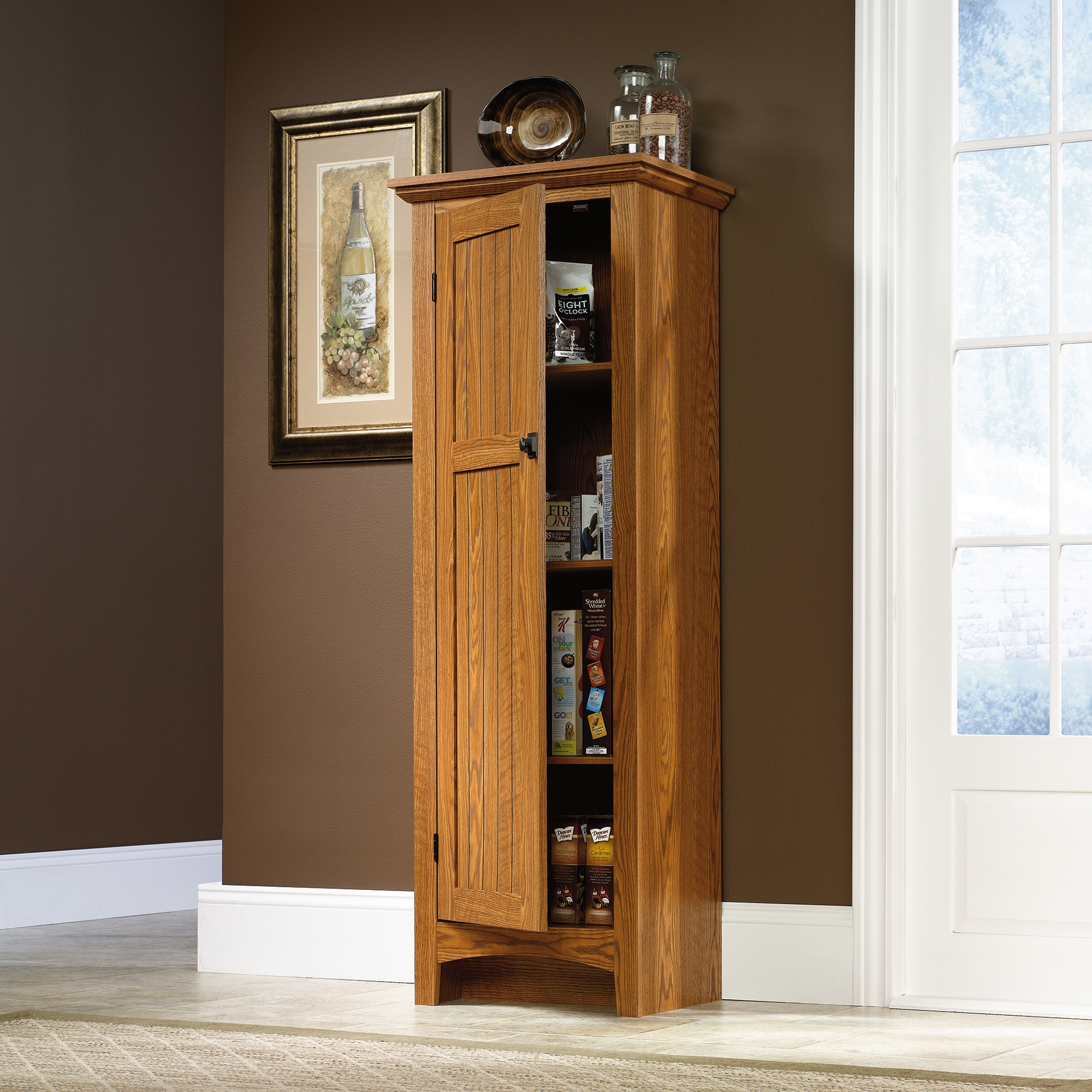 Permalink to Sauder Kitchen Pantry Cabinets