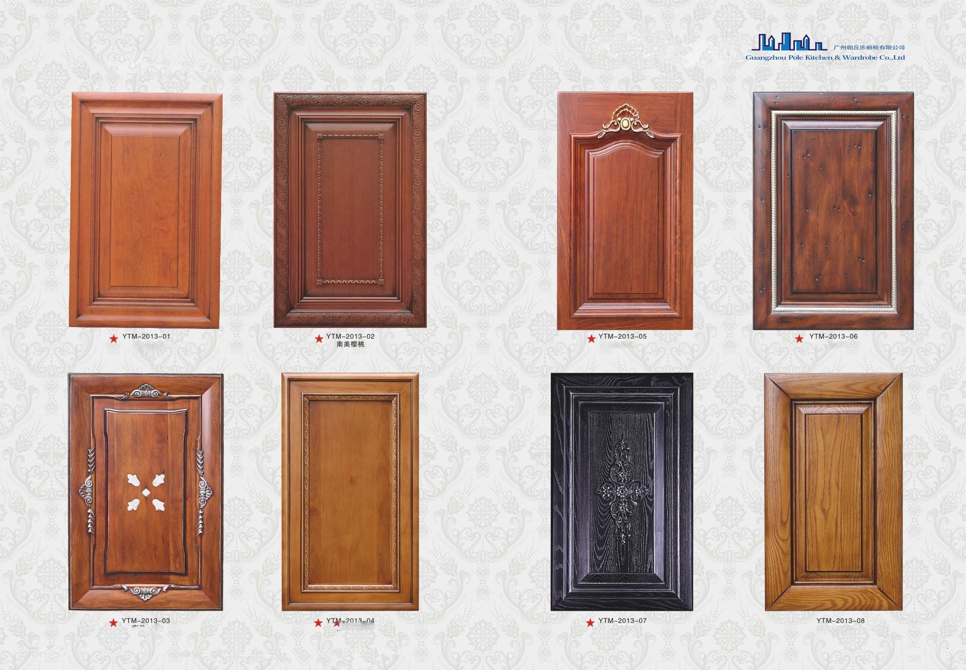 Solid Wooden Kitchen Cabinet Doors
