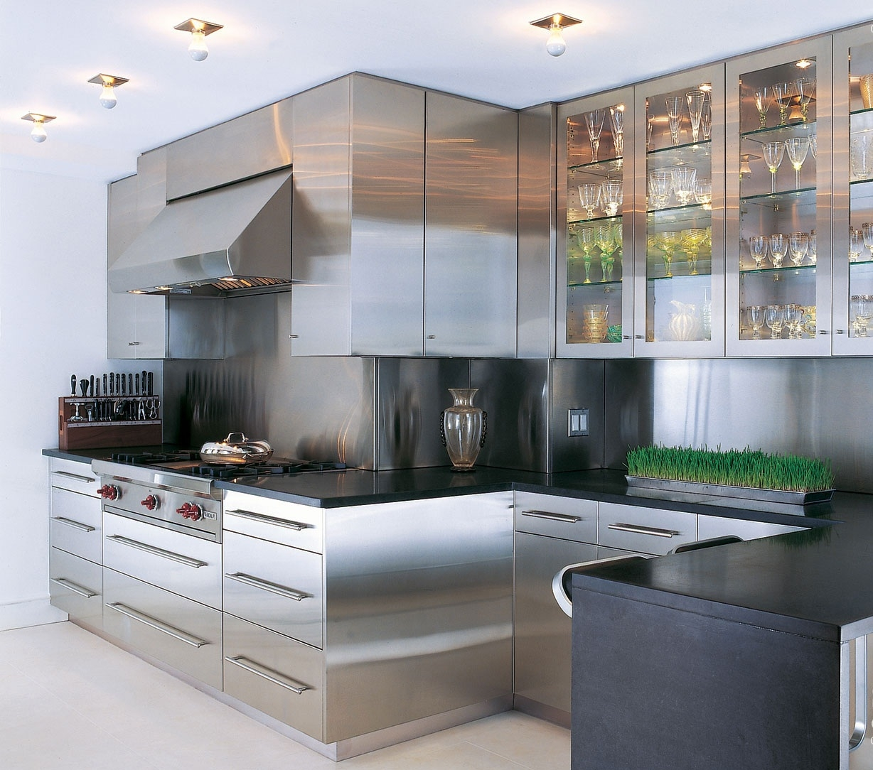 Stainless Steel Cabinets For Kitchen