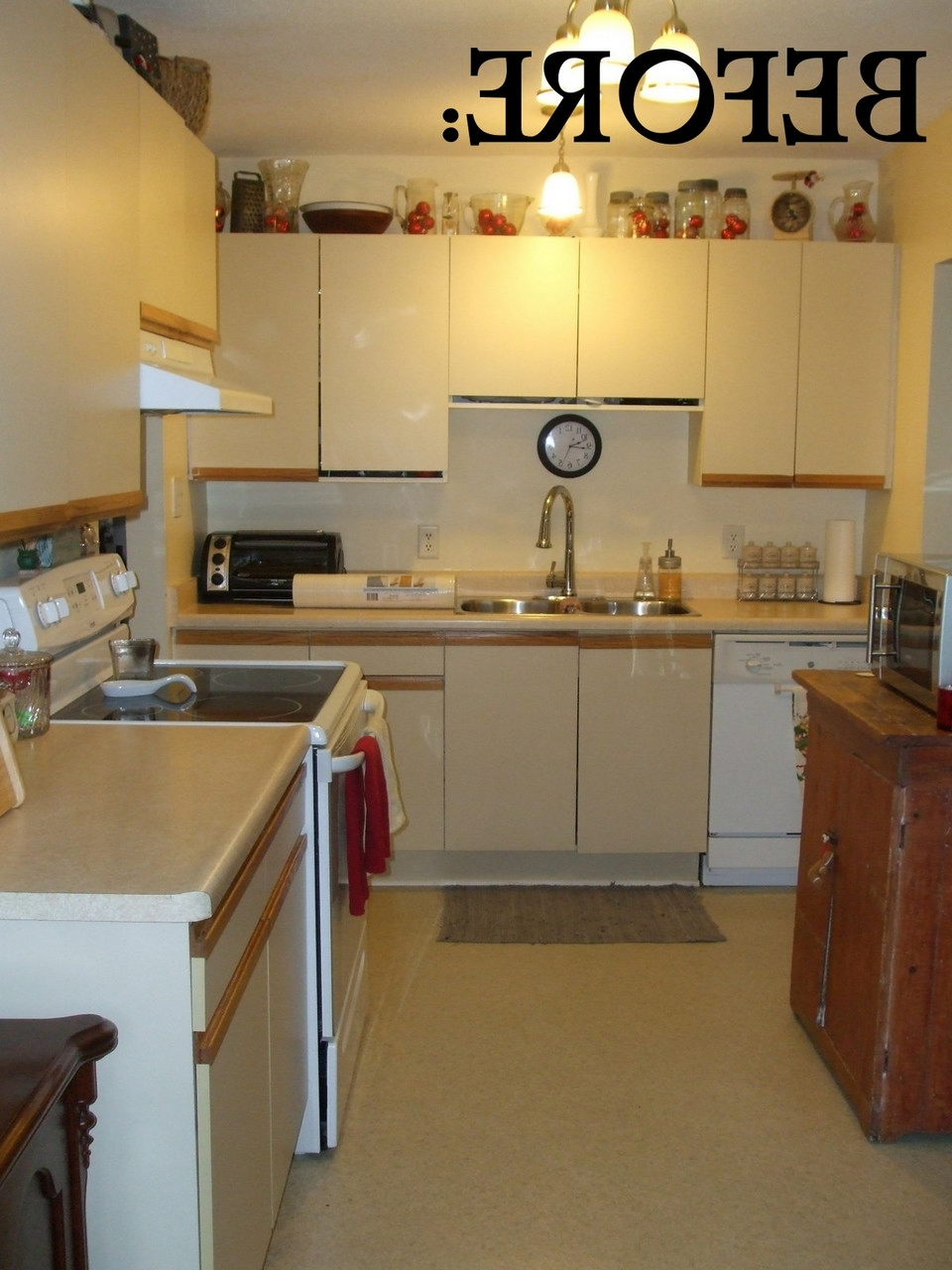 1980 Kitchen Cabinets Before And After