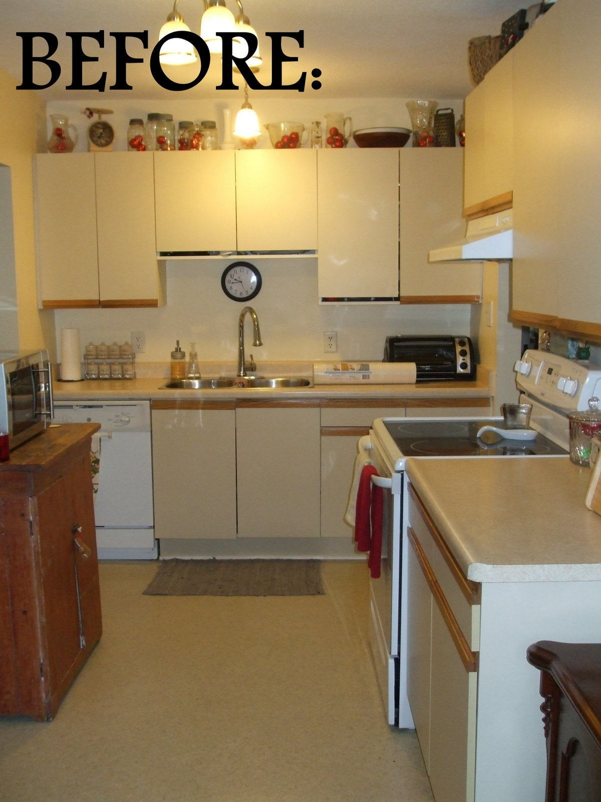 1980 Kitchen Cabinets Makeover