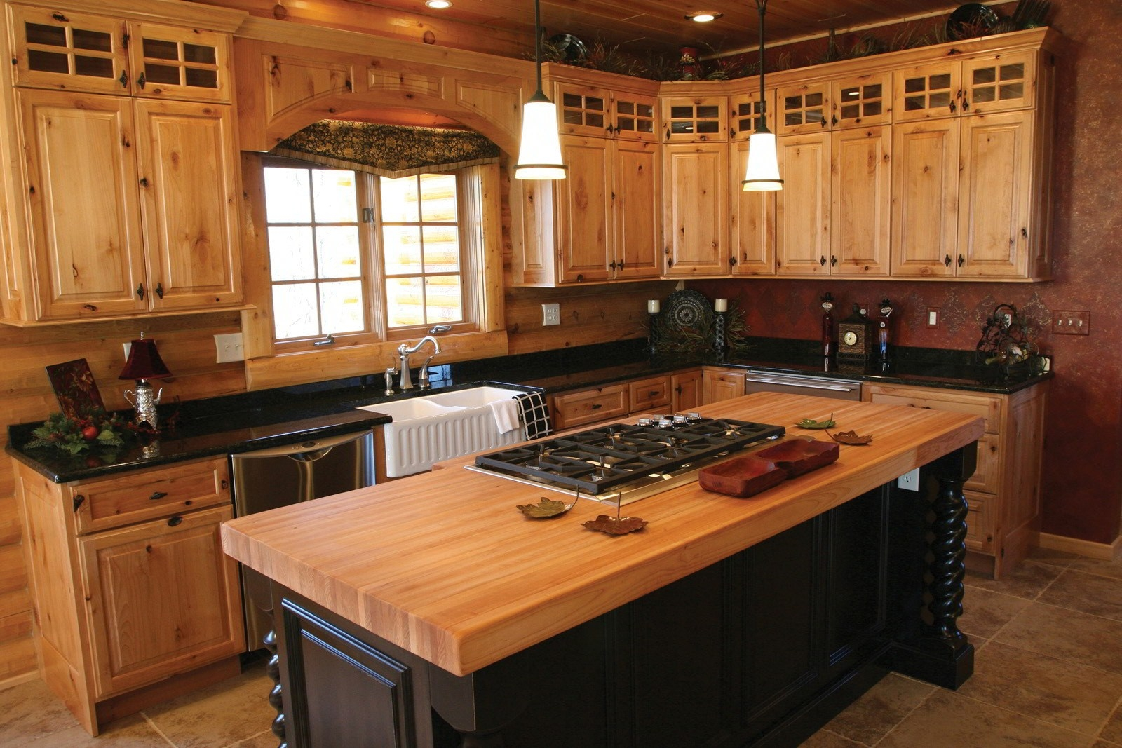 Antique Wood Kitchen Cabinets