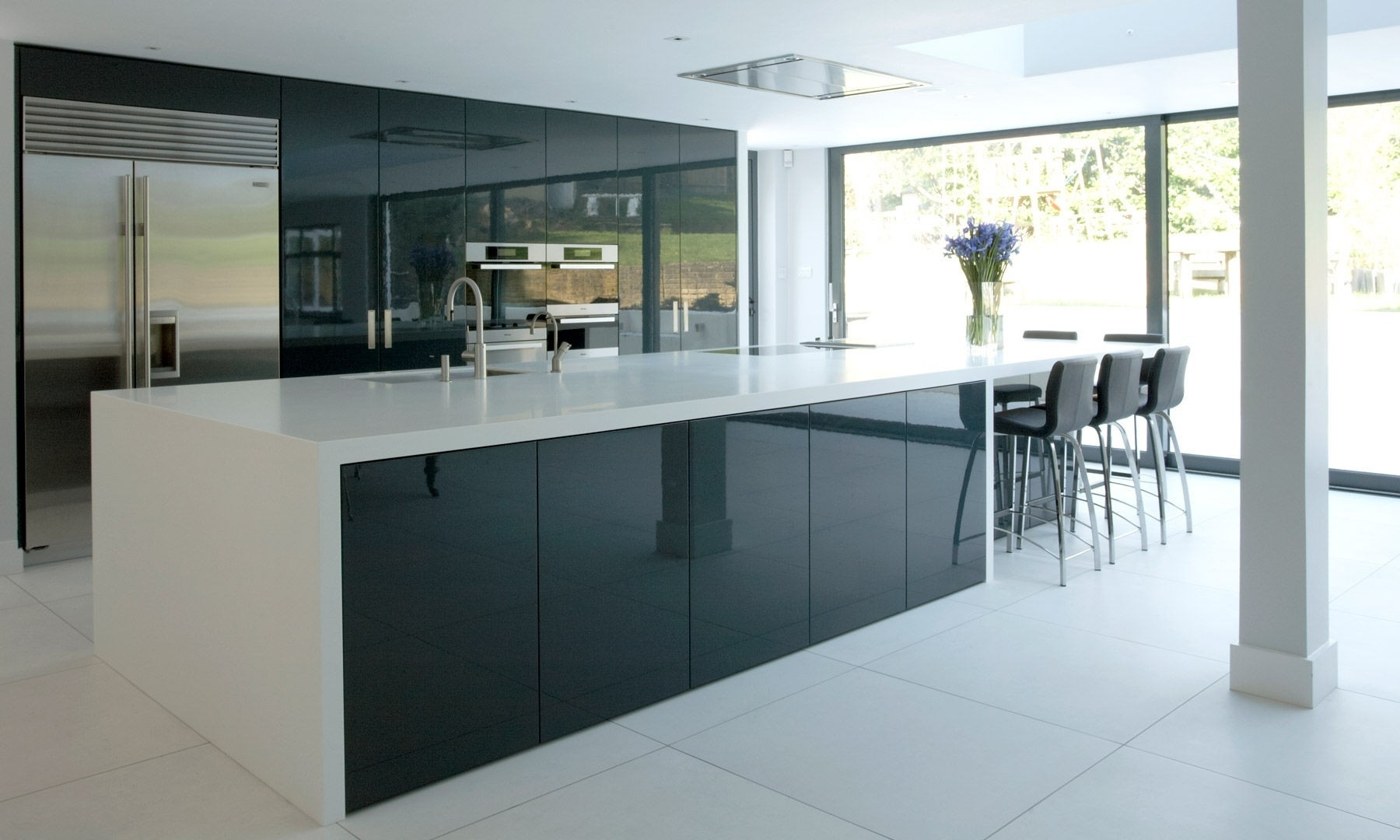 Permalink to Contemporary Glass Kitchen Cabinet Doors