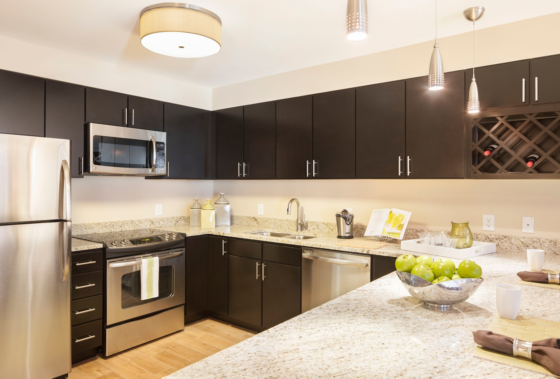 Durable Finish For Kitchen Cabinets