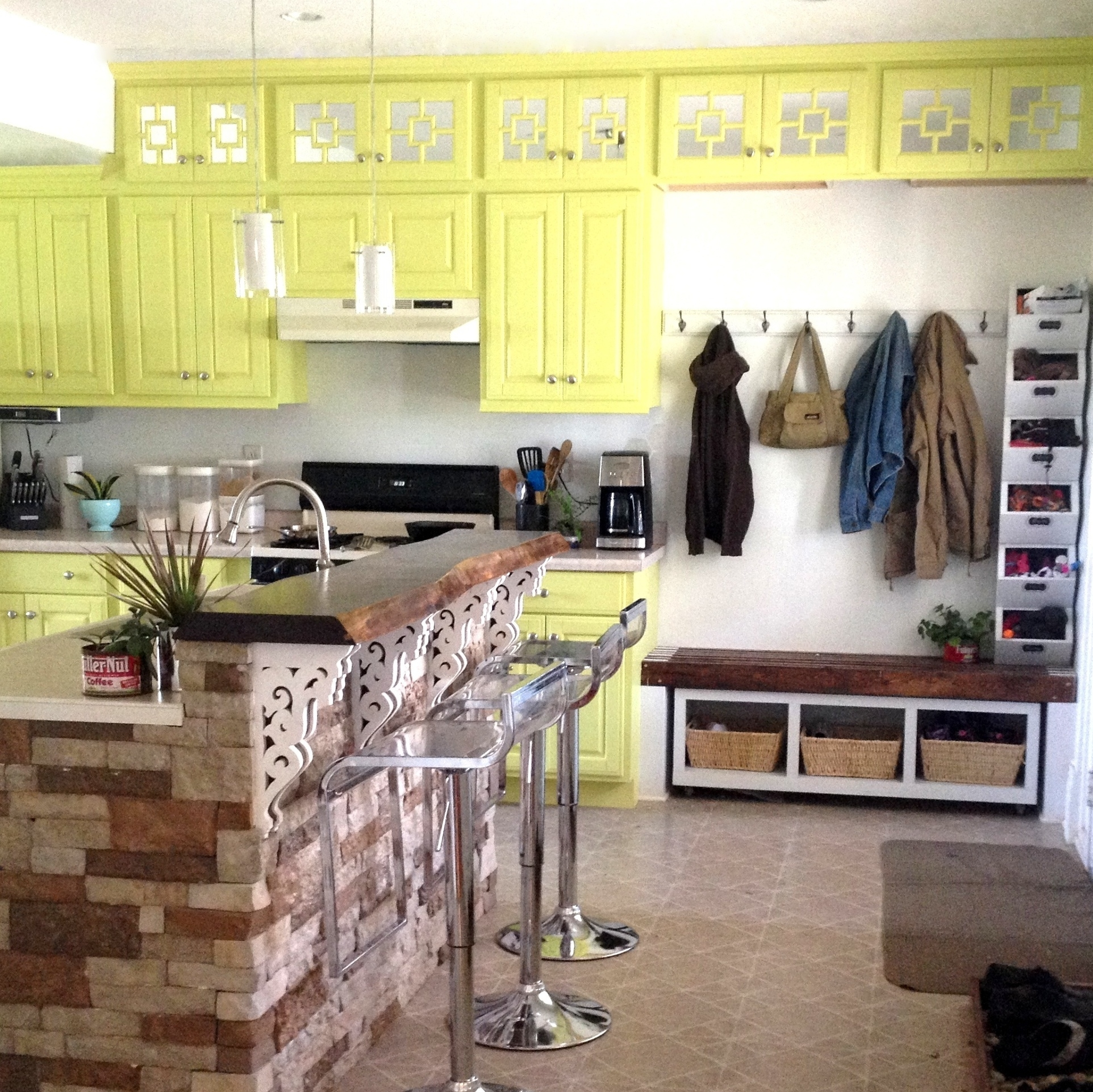 Extend Kitchen Cabinets Up