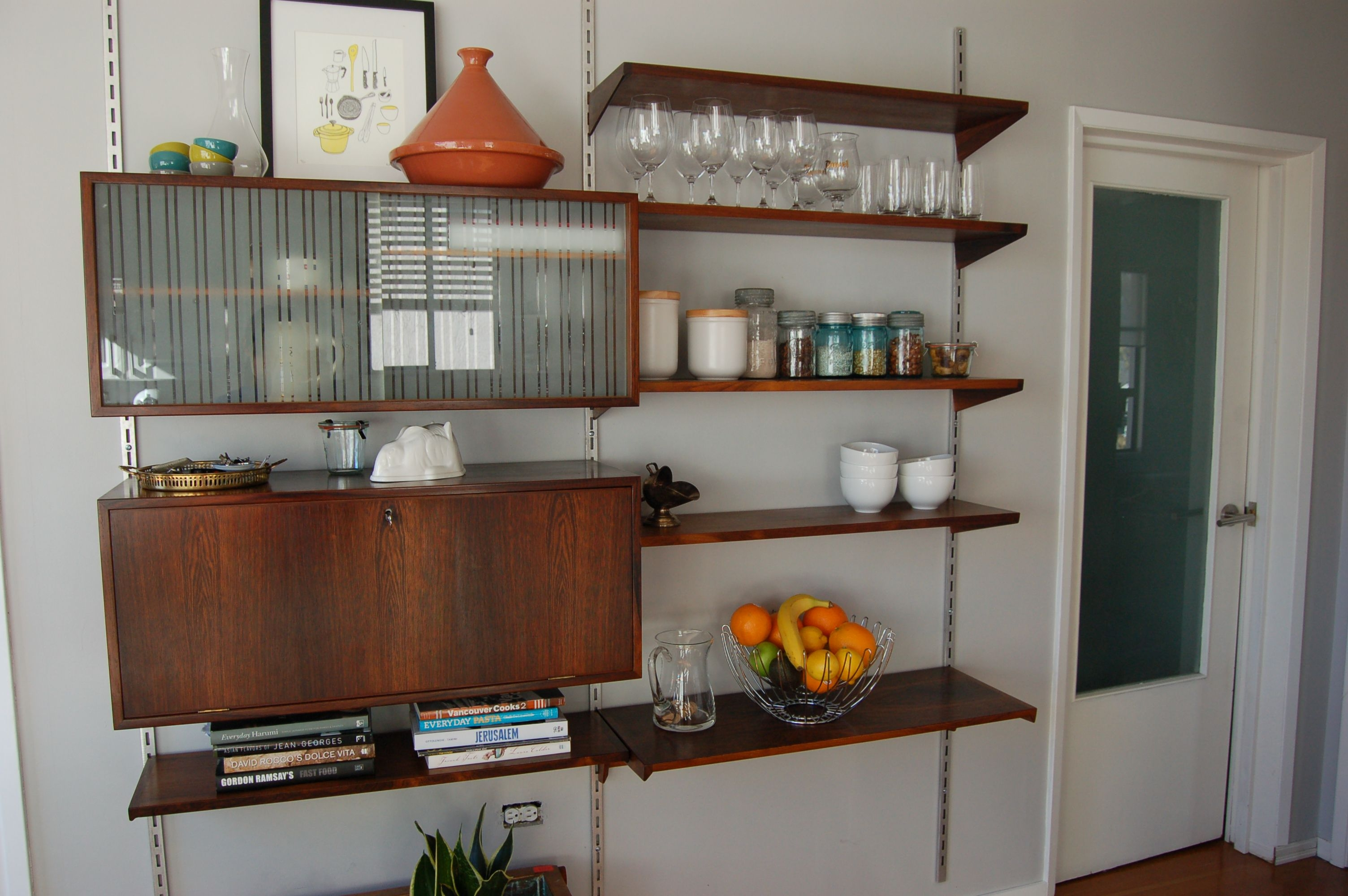 Floating Kitchen Wall Cabinets