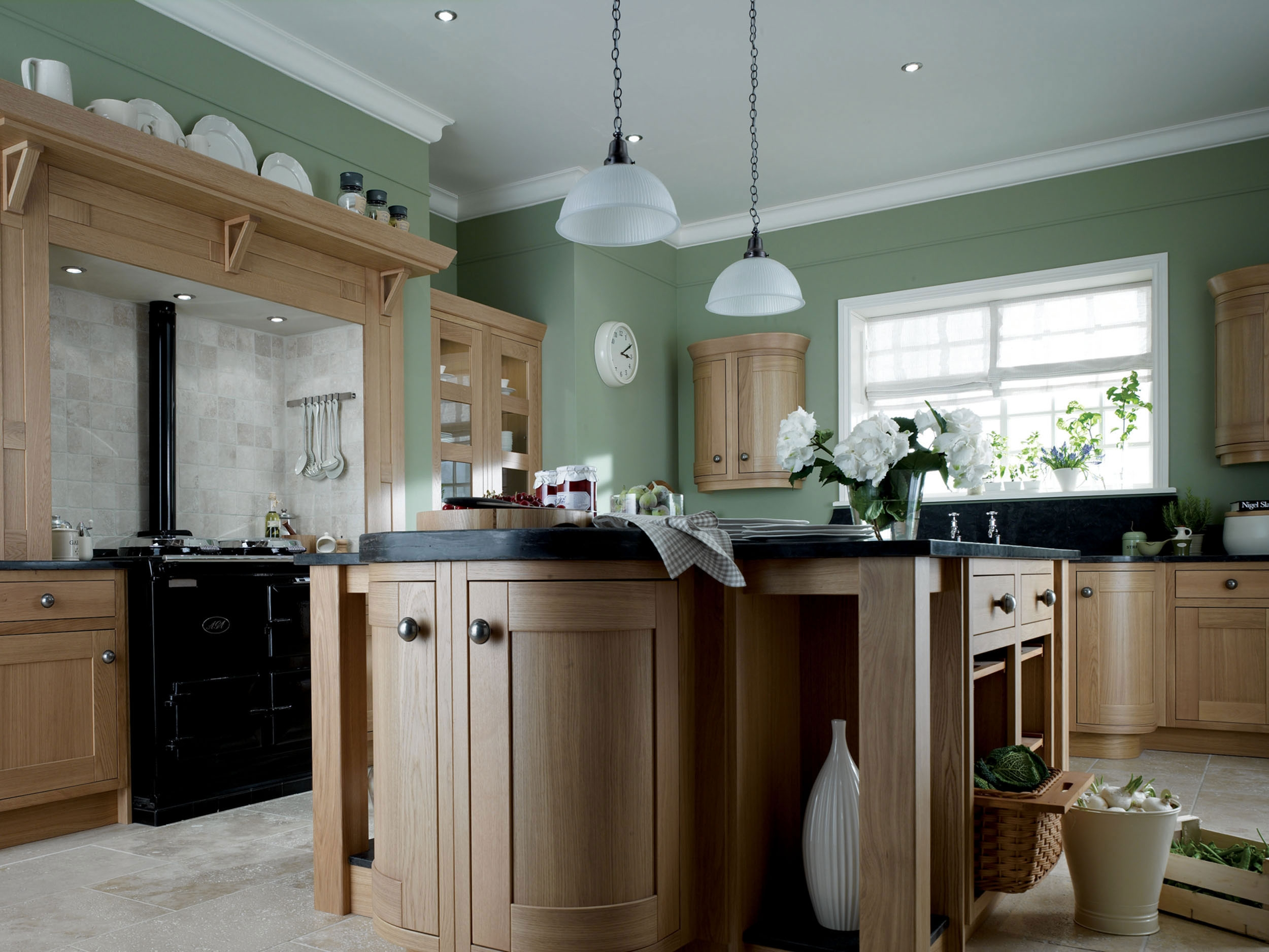 Kitchen Cabinet Colors With Green Wallsimpressive nice design kitchen wall color maple cabinet with