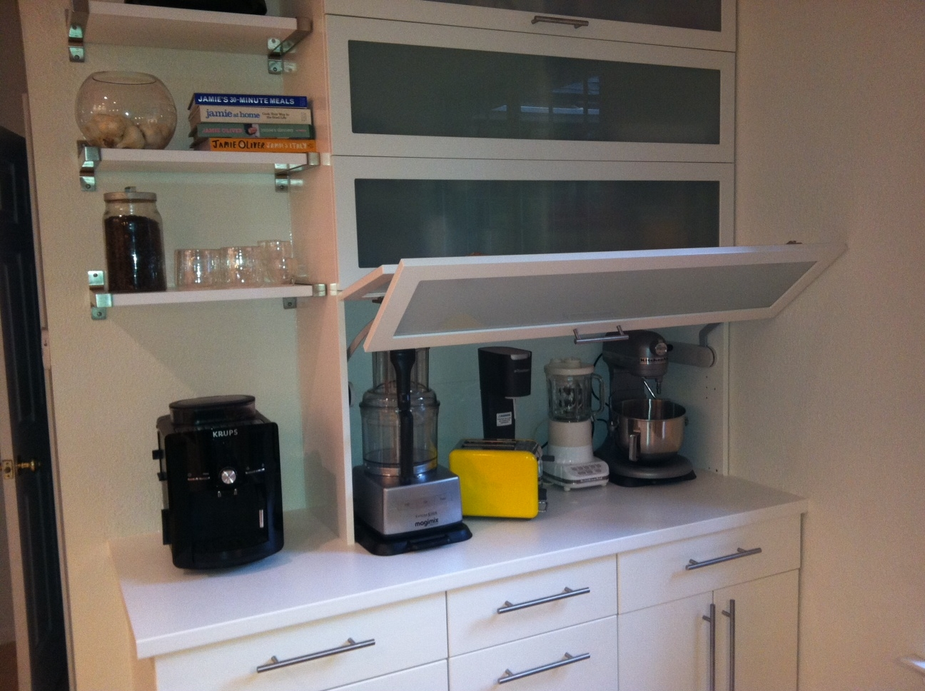 Kitchen Cabinet For Small Appliances