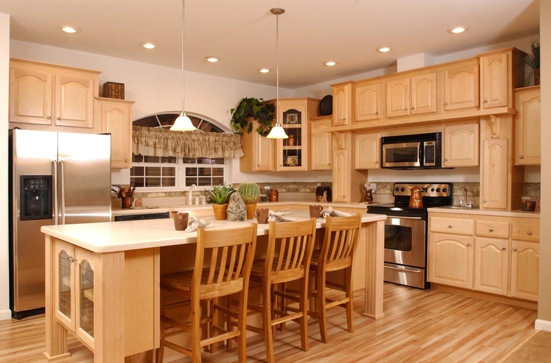 Kitchen Pictures With Light Cabinets