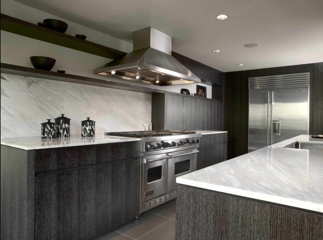 Limed Wood Kitchen Cabinets