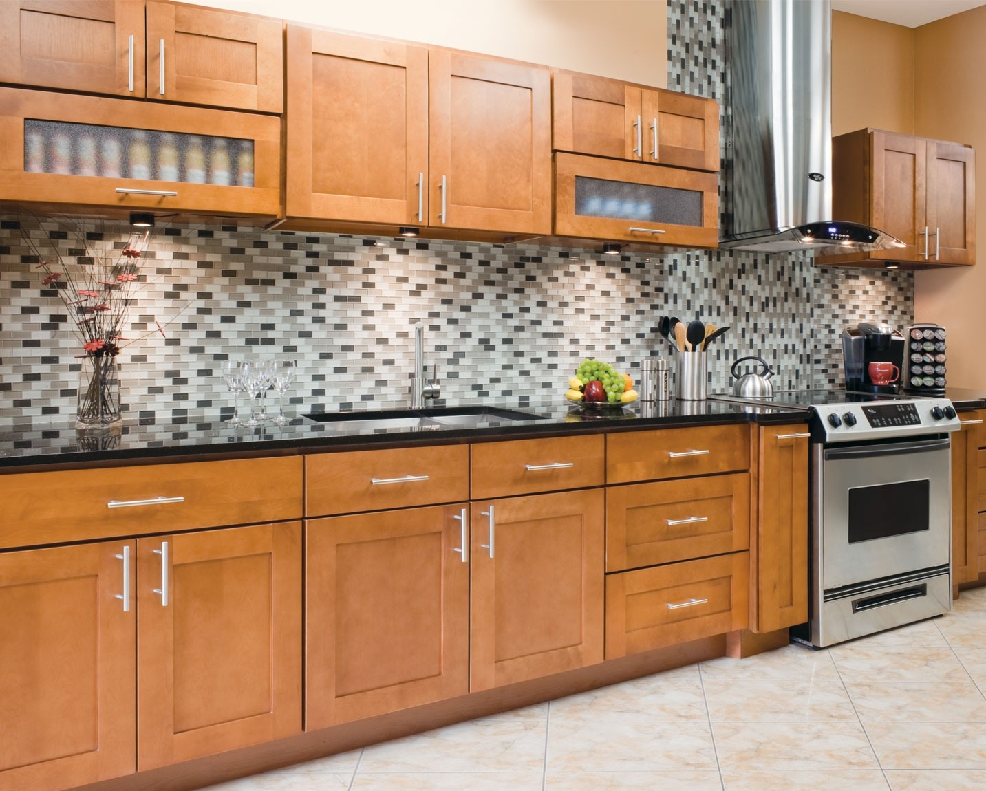 Newport Maple Kitchen Cabinets