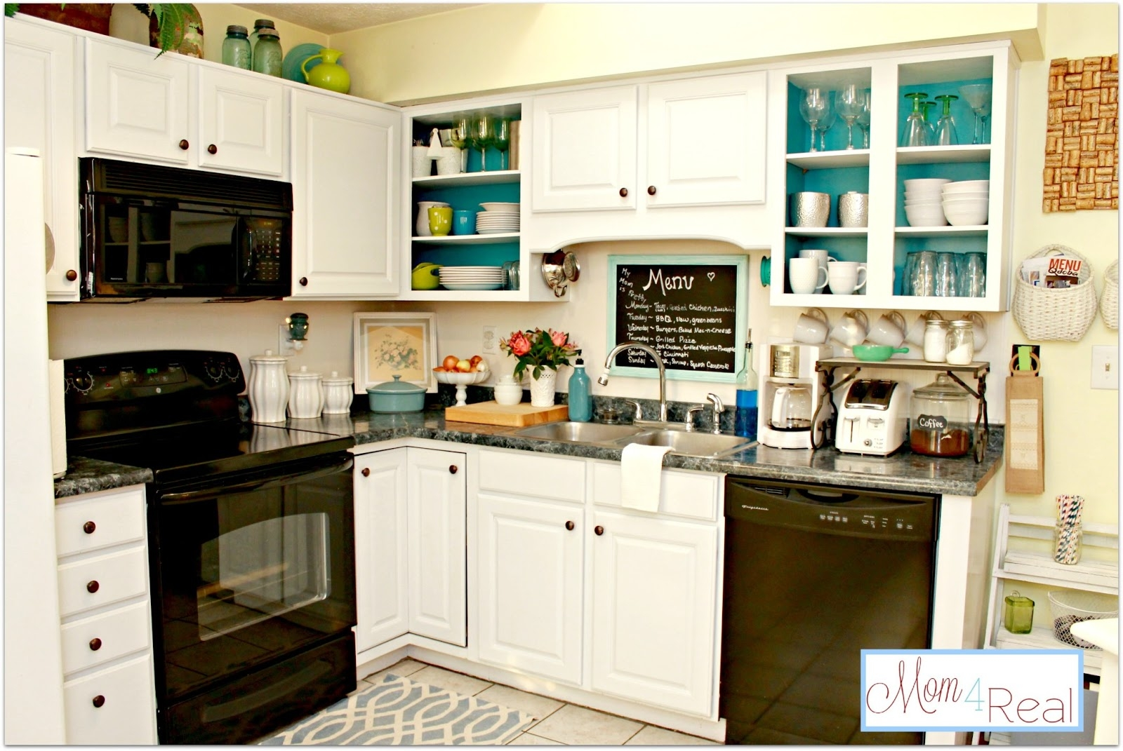 Open Kitchen Cabinet Images