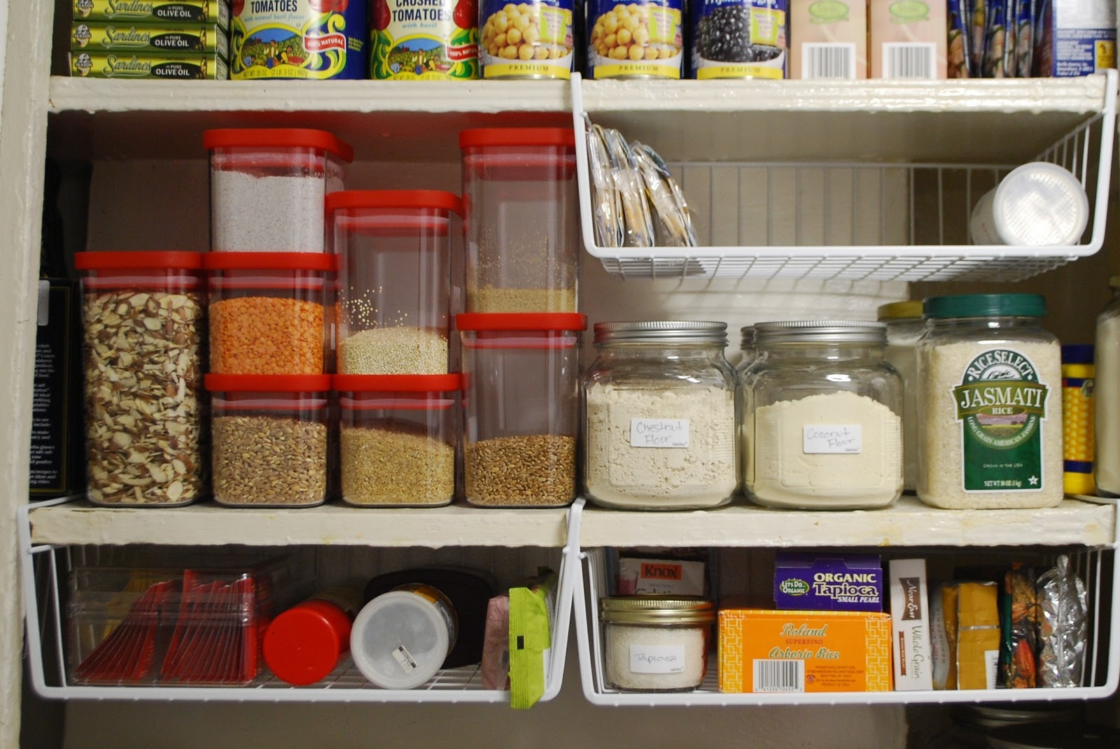 Organization Ideas For Kitchen Cabinets