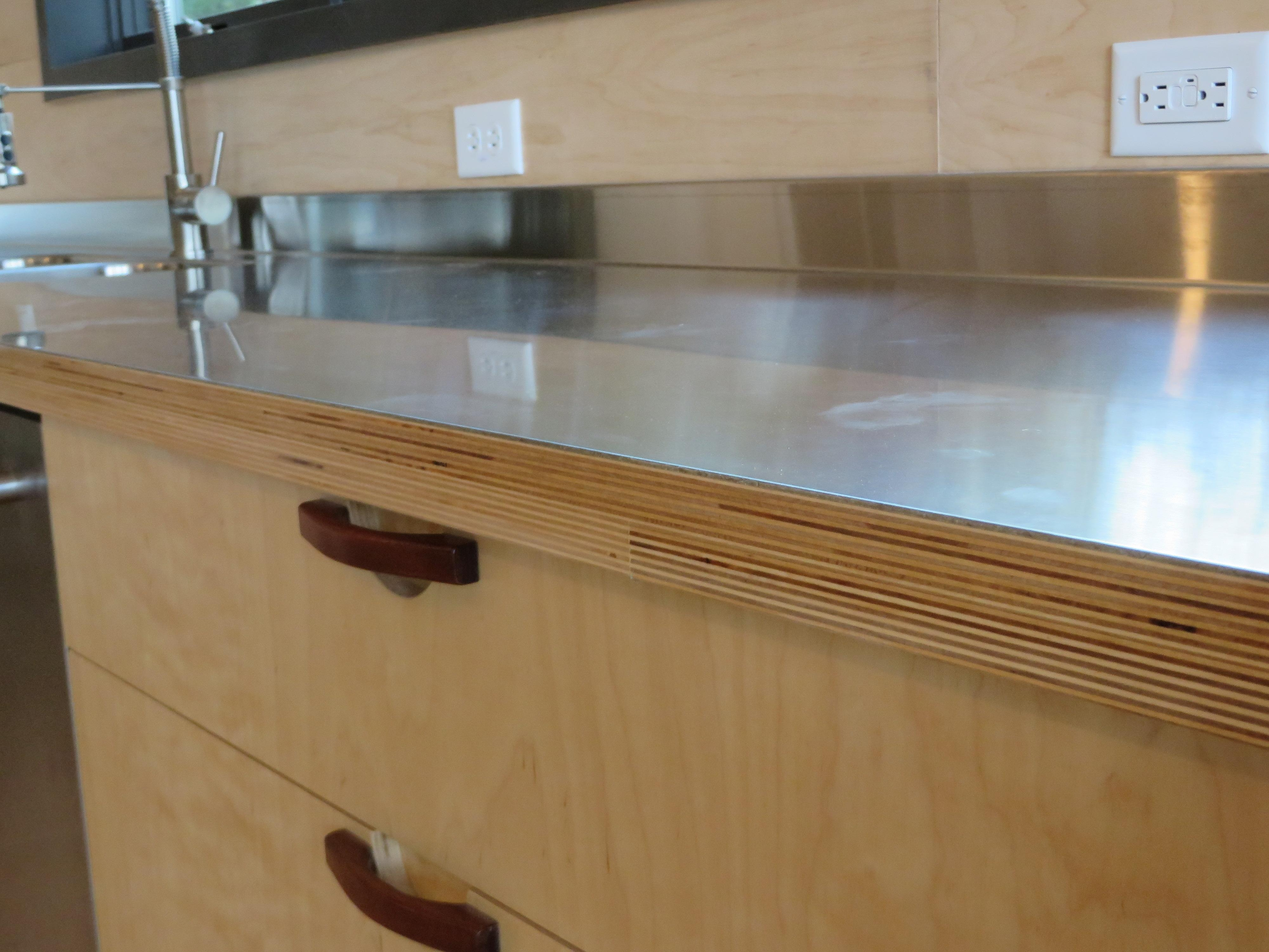 Solid Plywood Kitchen Cabinets