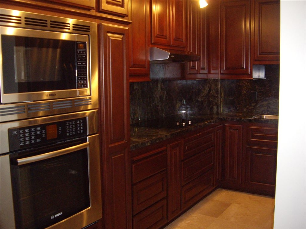 Stained Kitchen Cabinets Ideas