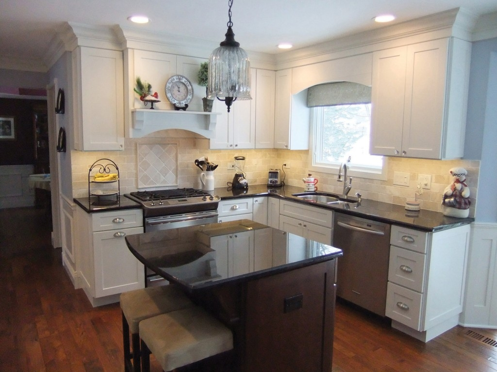 White Cabinets For Small Kitchens