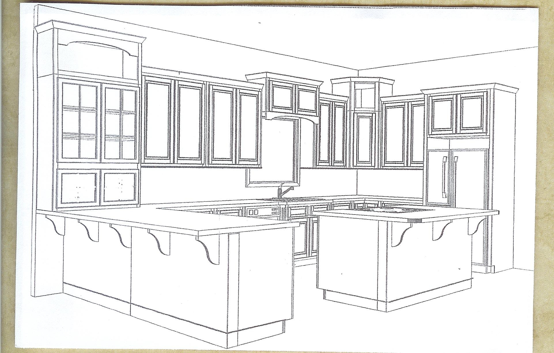 3d Kitchen Cabinets Dwg