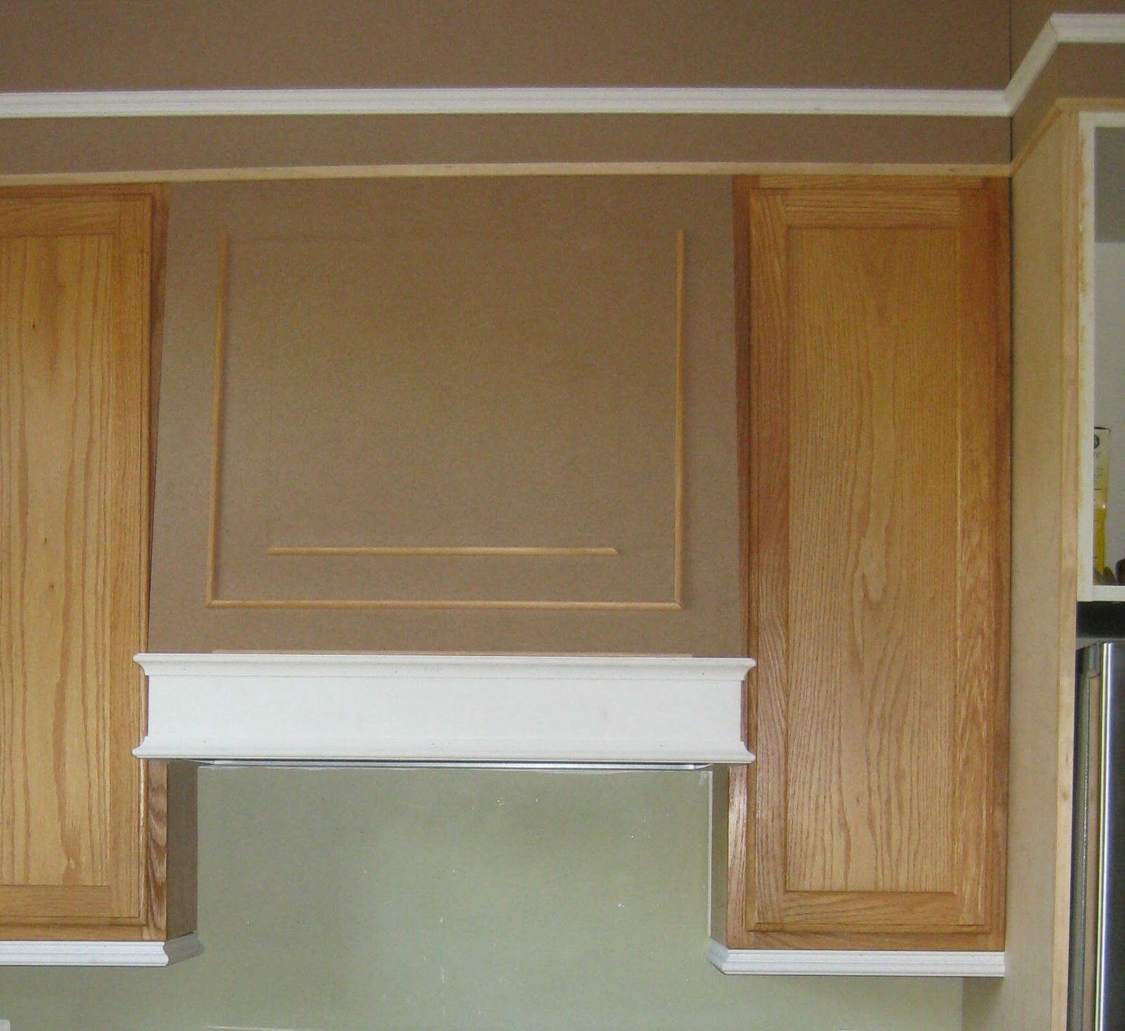 Add Decorative Moulding Kitchen Cabinets