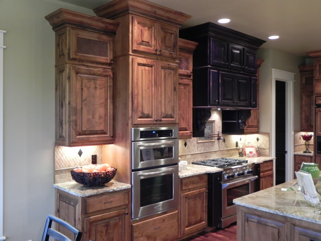 Permalink to Alder Kitchen Cabinets Images