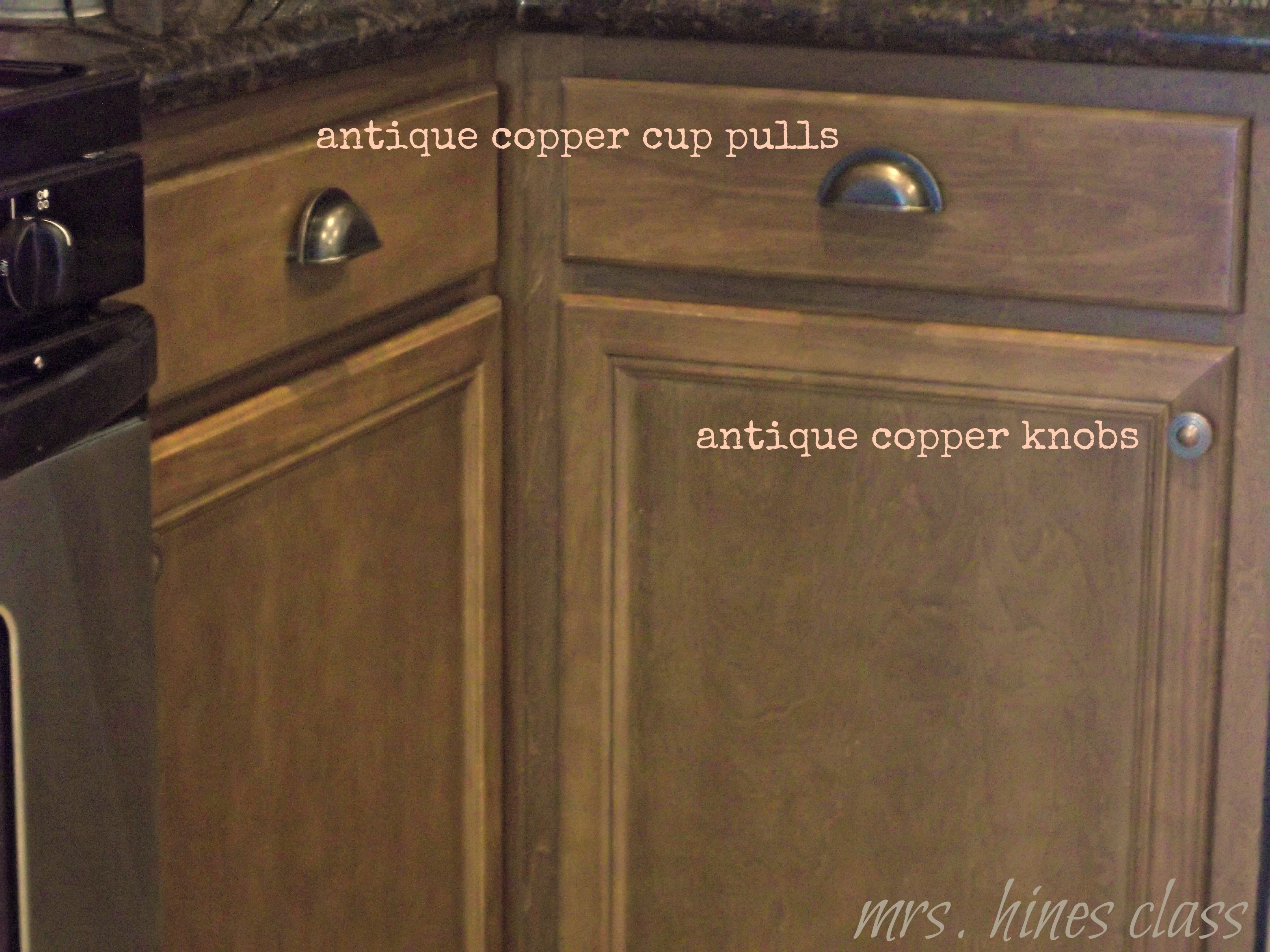 Antique Copper Kitchen Cabinet Hardware