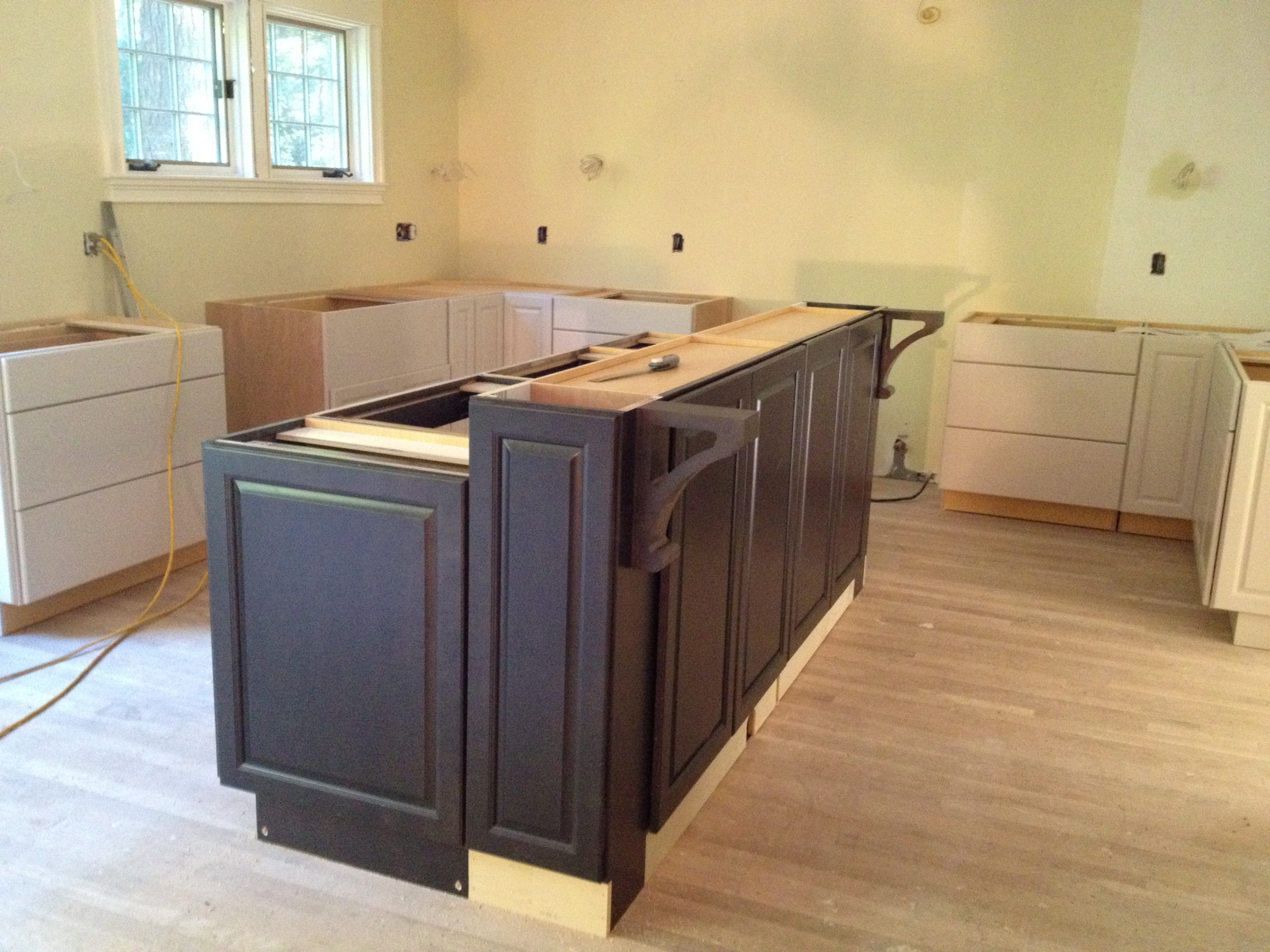 Bar Height Kitchen Cabinets