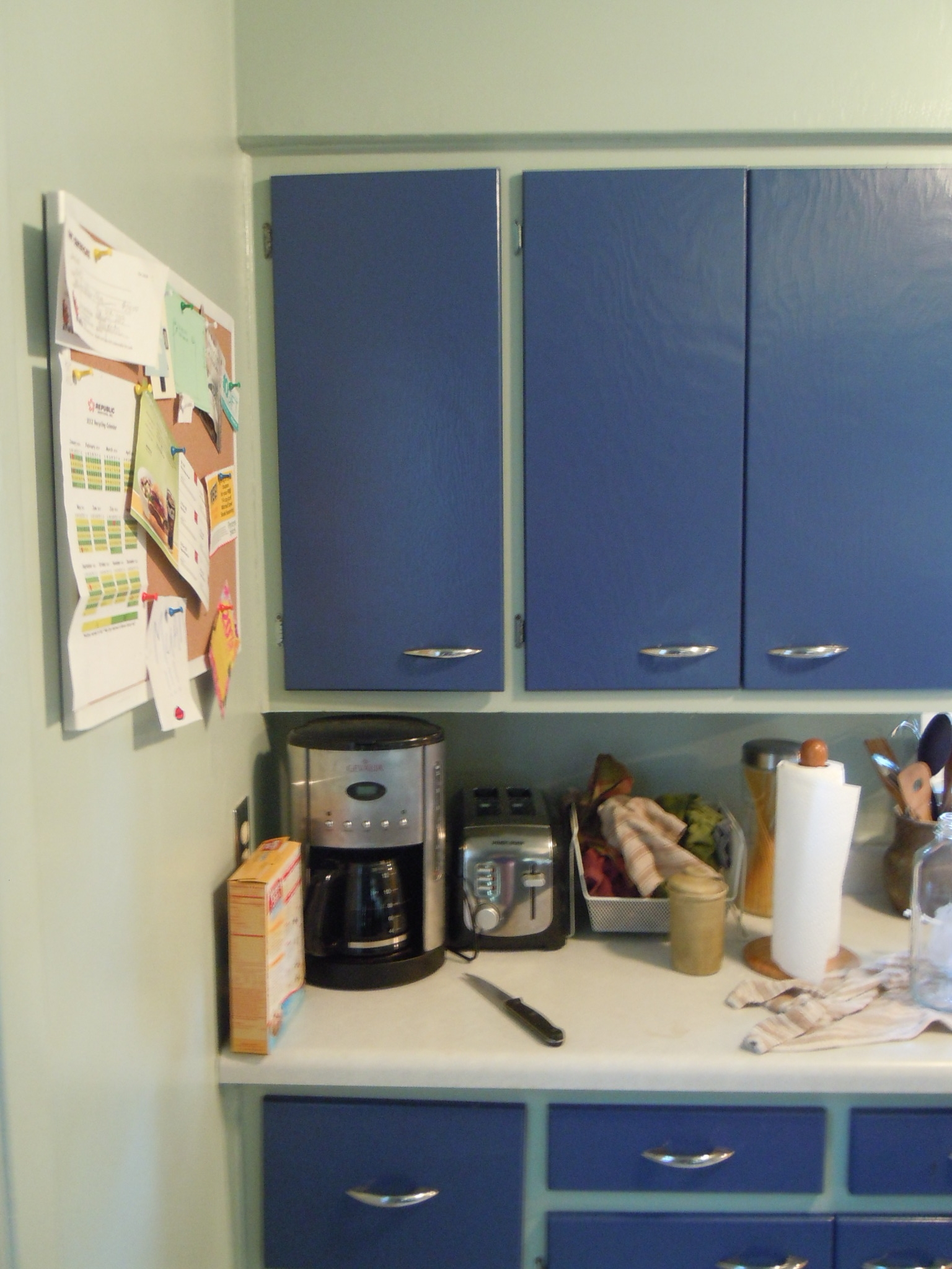 Blue Kitchen Cabinet Doors