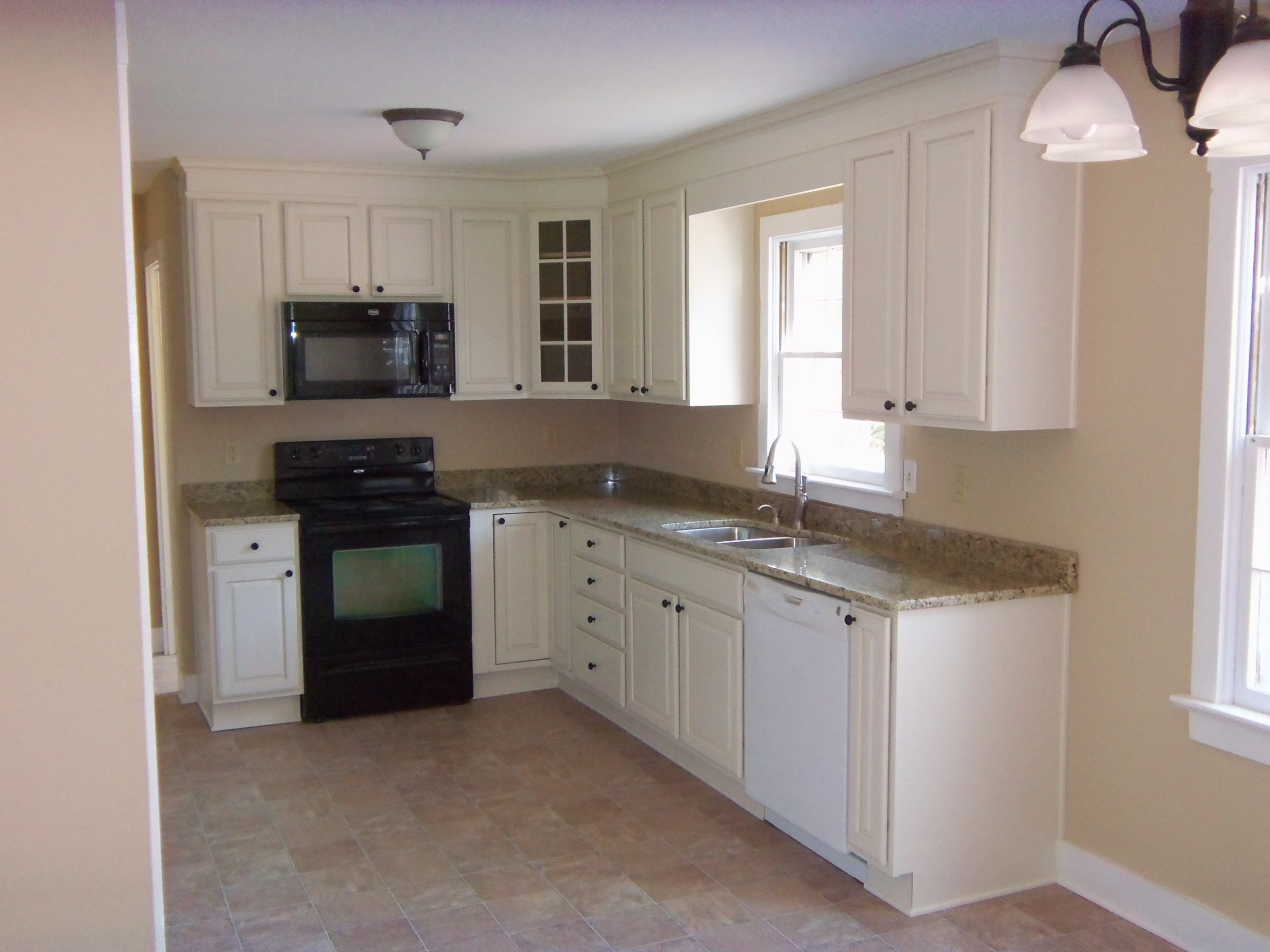 Cabinet Design For A Small L Shaped Kitchen