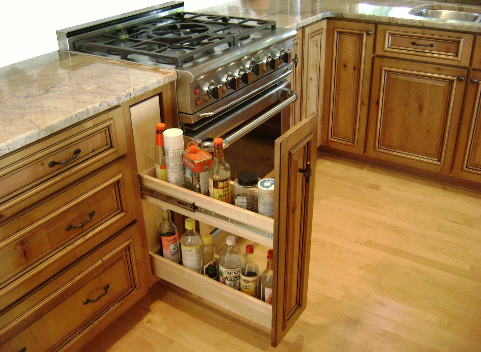 Carousel Spice Racks For Kitchen Cabinets