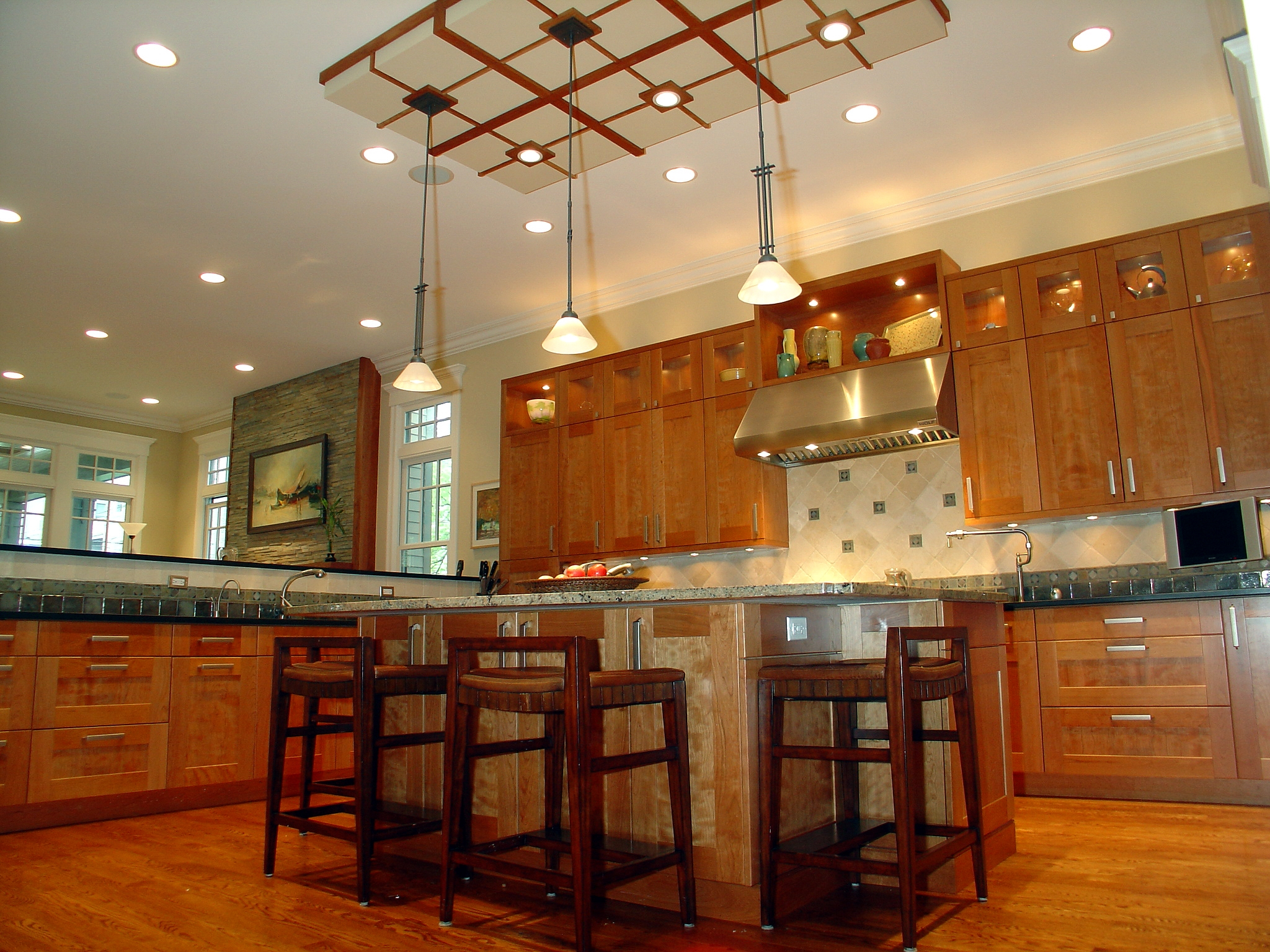 Ceiling Height Kitchen Wall Cabinets
