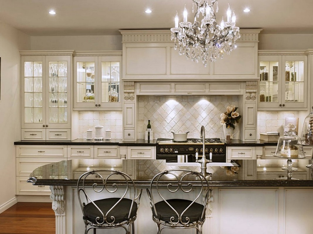 Clear Glass Kitchen Cabinet Knobs