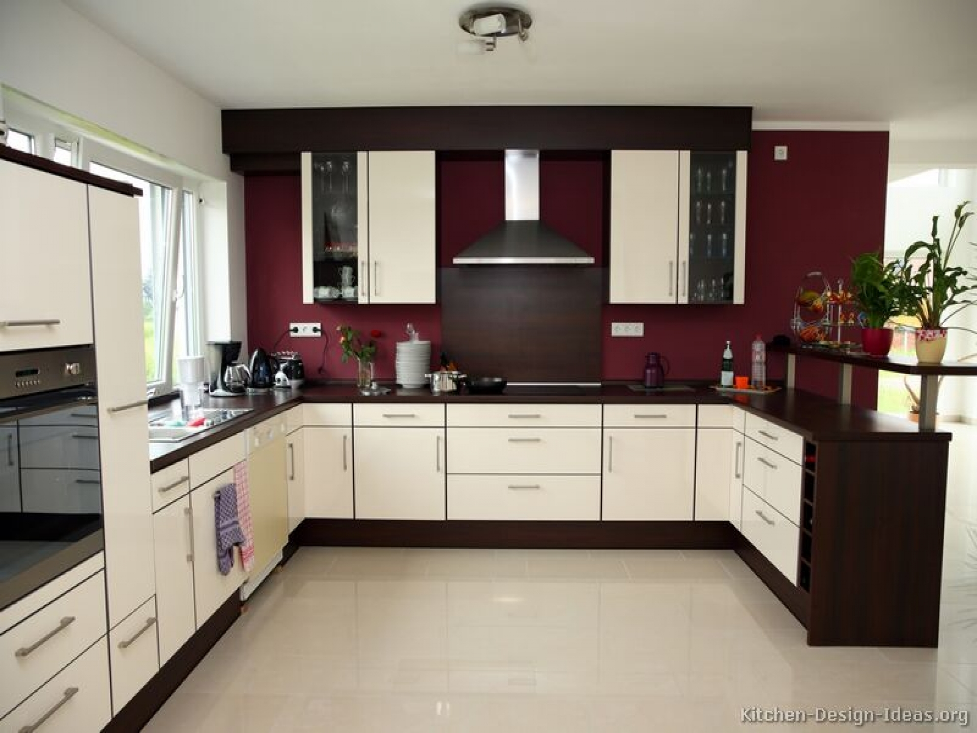 Color Combinations For Kitchen Walls And Cabinets