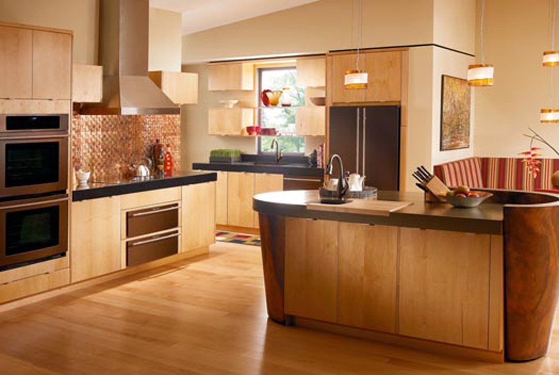 Color Schemes For Kitchens With Maple Cabinets