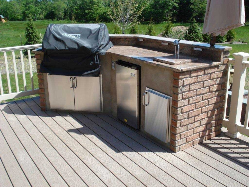 Composite Outdoor Kitchen Cabinets