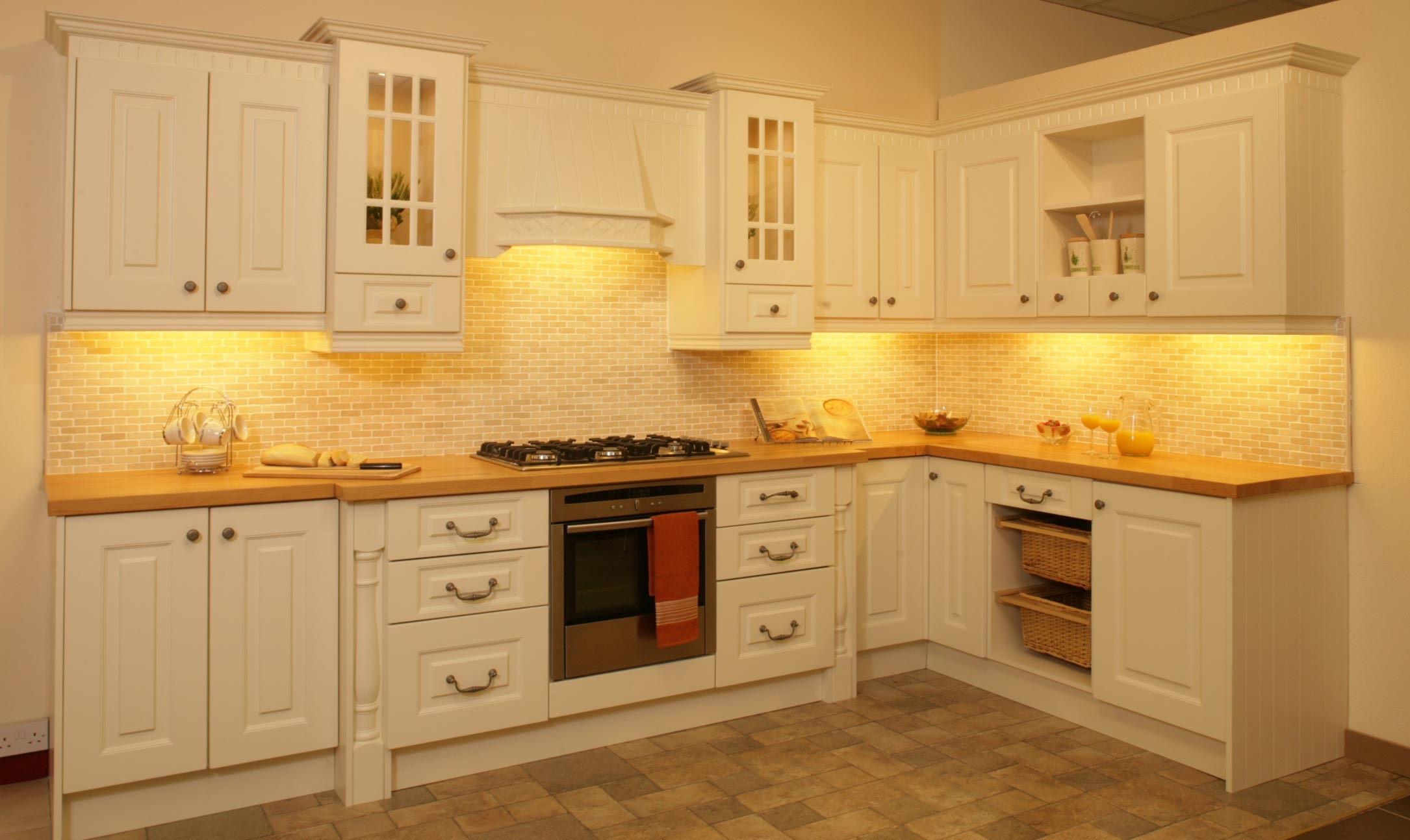 Cream Kitchen Cabinets Ideas