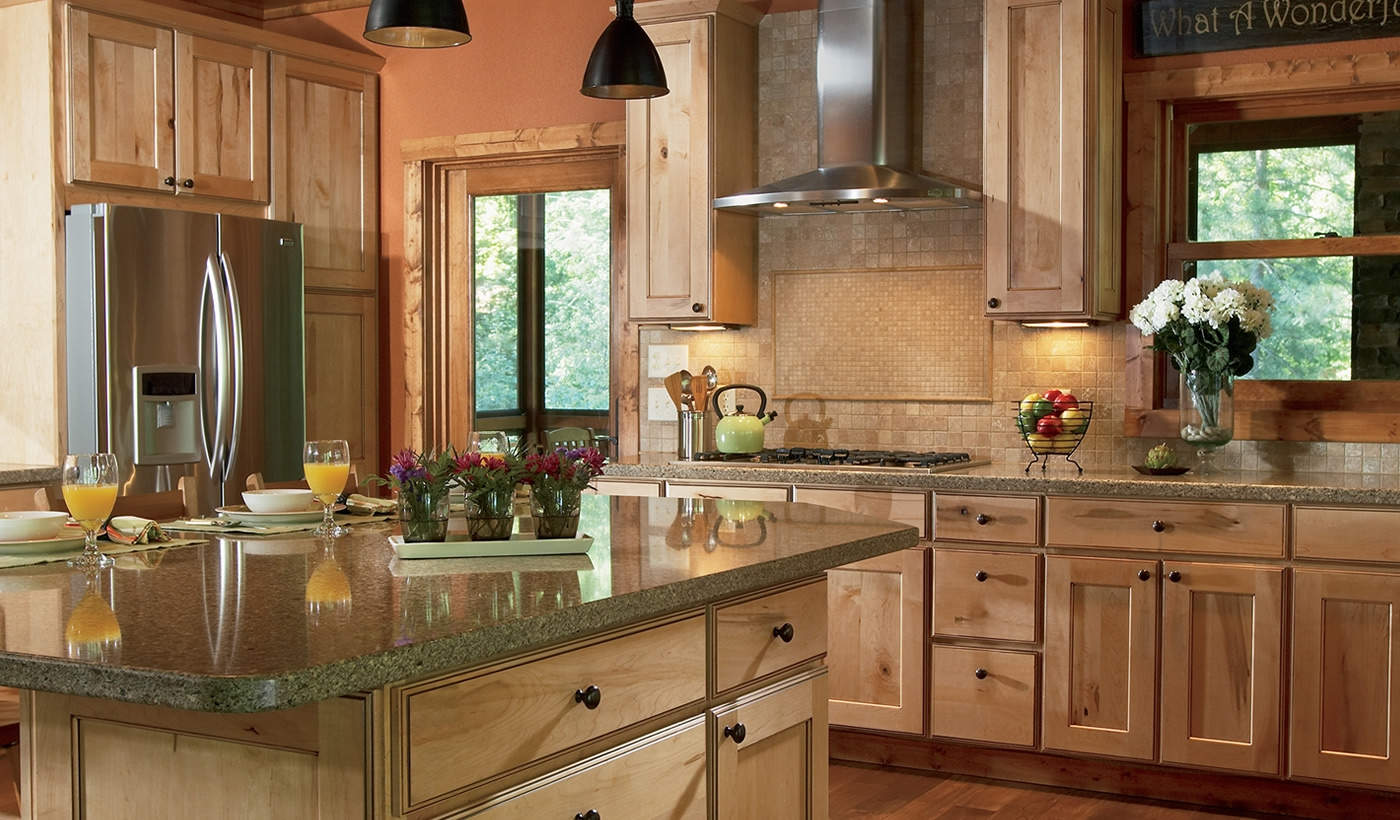 Custom Kitchen Cabinets Hardwood