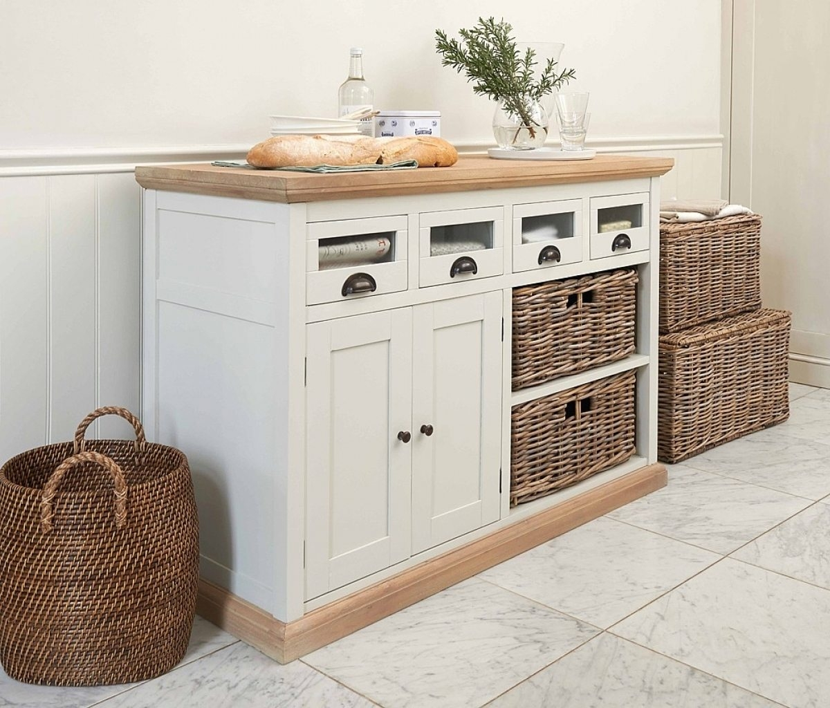 Decorative Kitchen Storage Cabinets