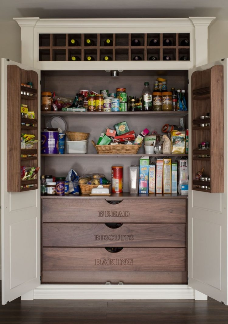 Designs For Kitchen Pantry Cabinet