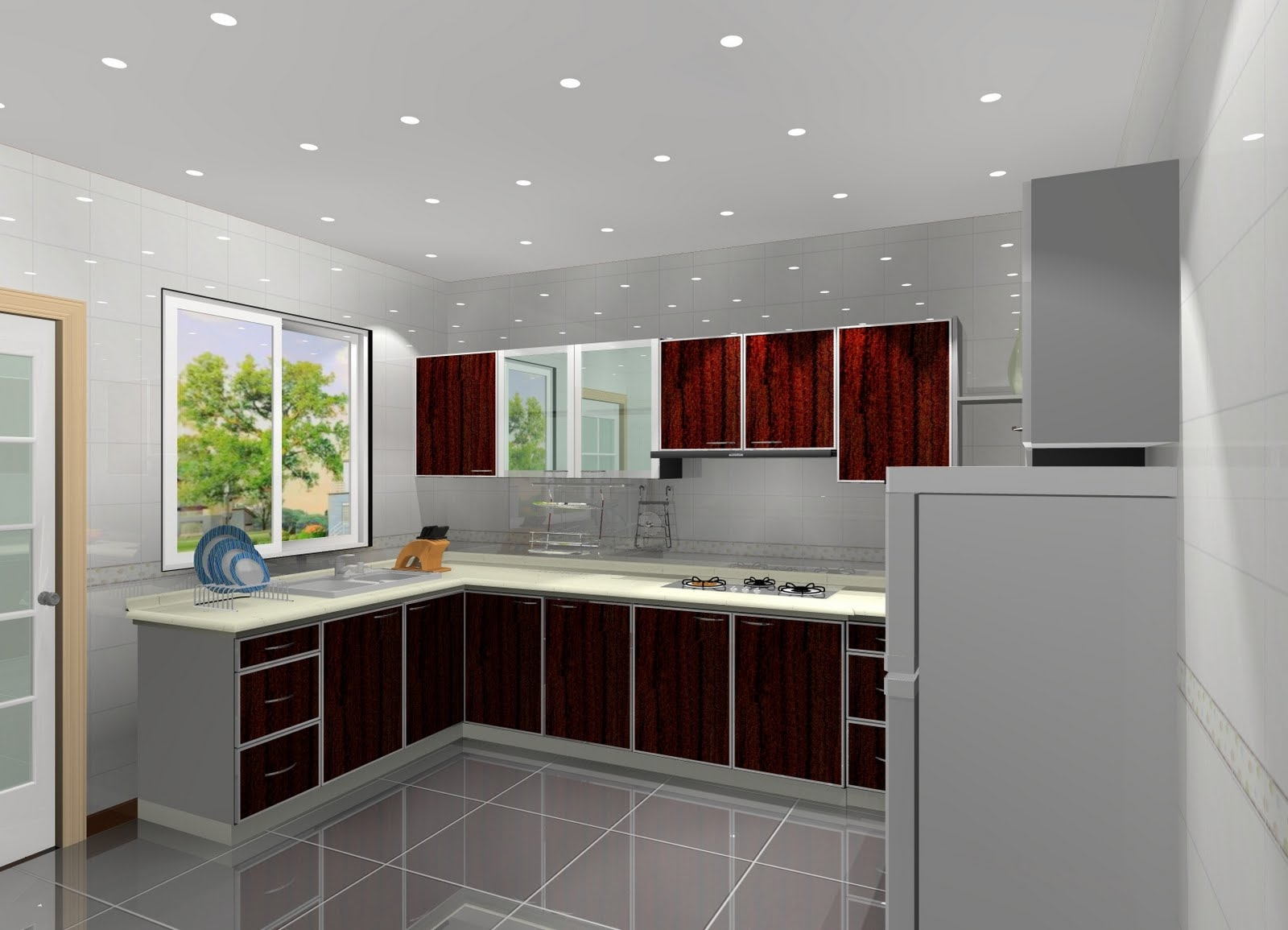 Different Designs Of Kitchen Cabinets