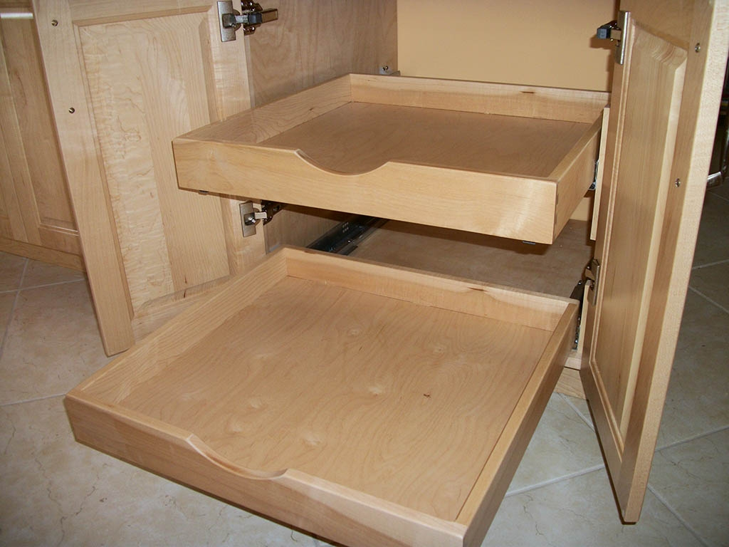 Dovetail Kitchen Cabinet Drawers